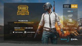 [DAY 1] Gamescom PUBG Invitational - Solo Main Event