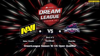 Full: [LIVE-THAI] 🏆 DreamLeague Season 10 CIS Open Qualifier - 24-9-2018 - Cyberclasher