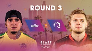 BLAST Pro Series Los Angeles 2019 - Front Row - Round 3 - MIBR Vs. Liquid