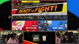 SSC 2019 SSBU - GW Zackray (Trainer) VS  MuteAce (Peach) Smash Ultimate Winner's Top 48