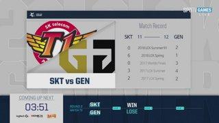 LCK Summer: SKT vs. GEN - KT vs. BBQ
