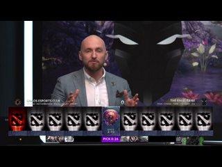 видео: TFT vs Chaos, TI9 Qualifiers EU, bo3, game2 [CrystalMay & Inmate]