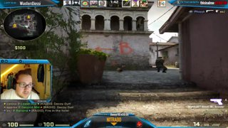 CS:GO - zonixx amazing Pistol ACE