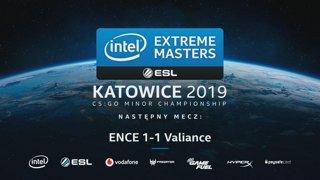 IEM Katowice 2019 - EU Minor   ENCE vs Valiance   Dzień 3