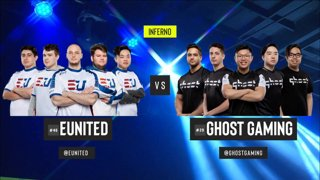 [PT-BR] eUnited vs. Ghost | ESL Pro League 2019 | Dia 16 - [Mapa 3 - INFERNO]