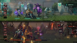 Complexity Gaming vs Immortals Game 1 (BO2) l China dota2 supermajor NA qualifiers