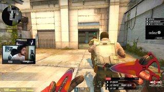 5k pistol com tito´s reaction