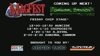 MAGFest 12 - Chip Stage - Friday - Auxcide, Chipocrite, A_Rival, Danimal Cannon