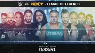 WWE vs. NXT: League of Legends