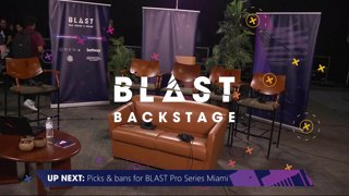 BLAST Backstage - Talent and Map Pick/Ban