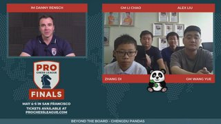 Danny interviews the Chengdu Pandas - PCL Finals 2019