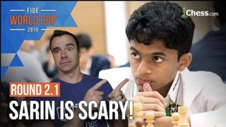 A perfect Ruy Lopez?! | FIDE Chess World Cup Round 2.1