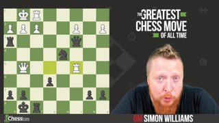 The Greatest Chess Move Of All Time!