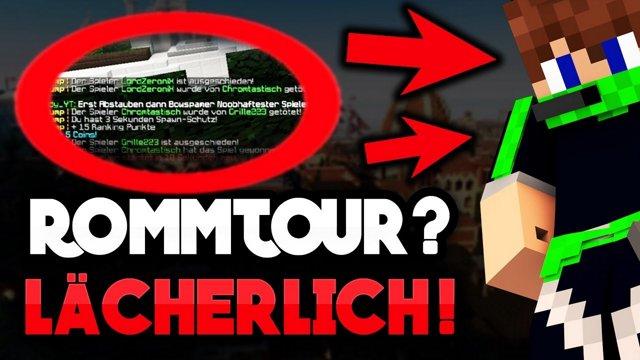ChromLP ROOMTOUR ICH SPIELE LÄCHERLICH Minecraft TRYJUMP - Minecraft tryjump spielen