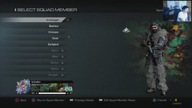 cod ghost squad members