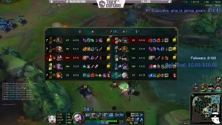 EUNE D4 full Jana gameplay with a horrible ADC