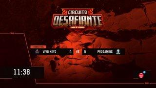 Circuito Desafiante 2019: 2ª Etapa - Grande Final | Vivo Keyd x ProGaming Esports