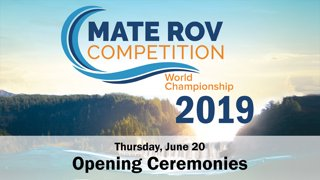 2019 Opening Ceremonies, Thursday AM