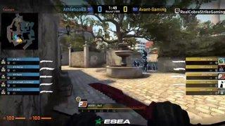 VOD 📽️ AVANT vs Athletico - BO1 - overpass [ESEA MDL Season 30 Australia]