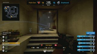 RERUN: mousesports vs. Astralis [Nuke] Map 2 - Group B LB Ro8 #1 - IEM Sydney 2018