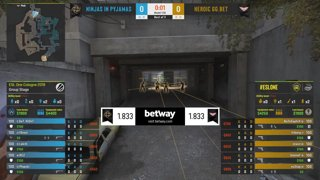 CS:GO - NiP vs. Heroic [Overpass] Map 1 - Group B - ESL One Cologne 2019