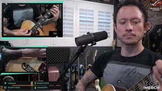 Matt Heafy (Trivium) - The Darkness - I Believe In A Thing Called Love I Acoustic Cover