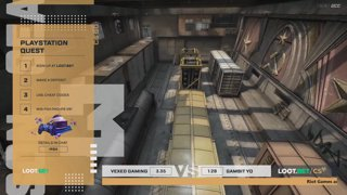 (EN) Gambit Youngsters vs Vexed Gaming | map 2 | Loot.bet/CS Season 3 | by @VortexKieran