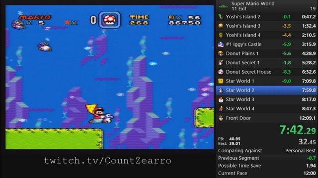 Super Mario World 11-Exit Glitchless