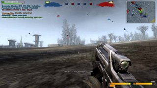 Battlefield 2142 - Railgun wipes out a soldier next to me