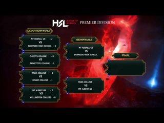 Season One, Semi Final – Tawa College vs Mt Albert Grammar School Game 1