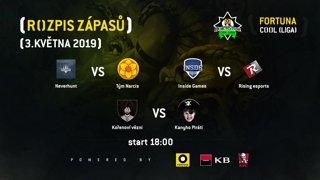 FORTUNA COOL Hearthstone liga - 5. kolo - Inside Games vs. Rising esports