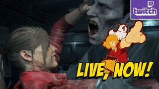 RE2 DAY 3 - Claire B Scenario Continues - PC HARDCORE -!giveaway ASUS LAPTOP - bit.ly/MAXASUS2019