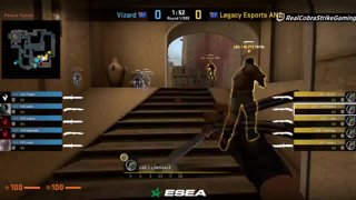Highlight: Legacy vs Vizard - BO1 - [ESEA MDL Season 29 Australia]