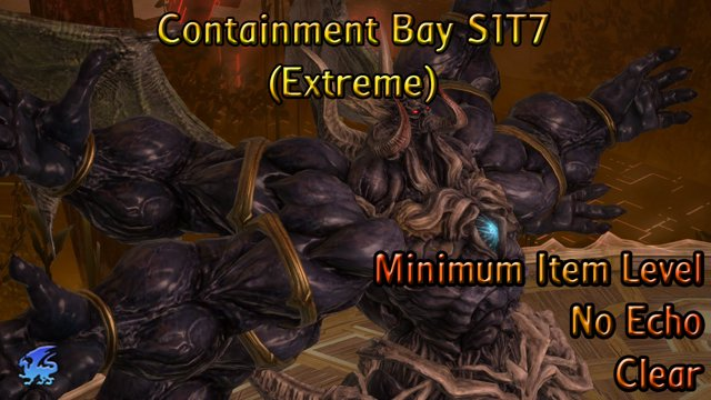 Sephirot EX (Containment Bay S1T7 Extreme) - Minimum Item level / No Echo  Clear - Garlean Decurion