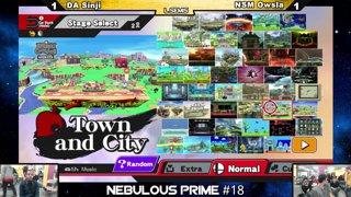 Nebulous Prime 18 DA Sinji vs Ho3K JohnNumbers