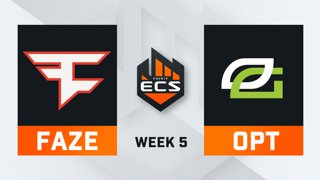 FaZe vs OpTic - Map 1 - Vertigo (ECS Season 7 - Week 5 - DAY3)