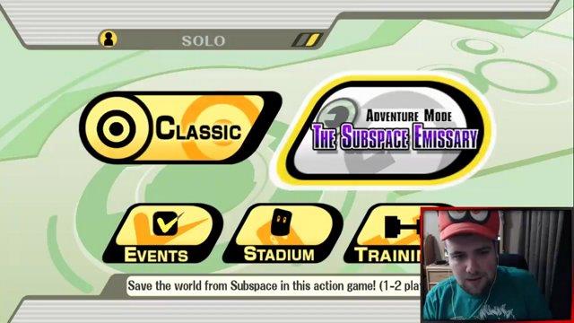 Smashmastershow Smash Bros Subspace Emissary Part 1 New Kirby