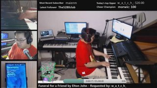 THE MOST KEYBOARDS ON TWITCH late night OZ stream :)