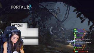Portal 2 (co-op with Breezy): Part 1