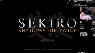 Sekiro Any% Speedrun in 33:47 (WR)
