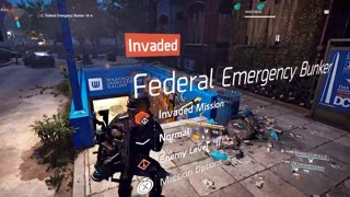 Highlight: PCG1 Plays The Division 2 | Invasion Tier 2 Federal Emergency Bunker