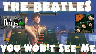 You Won't See Me - The Beatles Rock Band DLC Expert Full Band
