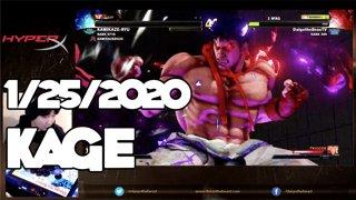 Highlight: 1/25/2020 Street Fighter V カゲ配信 Kage Stream
