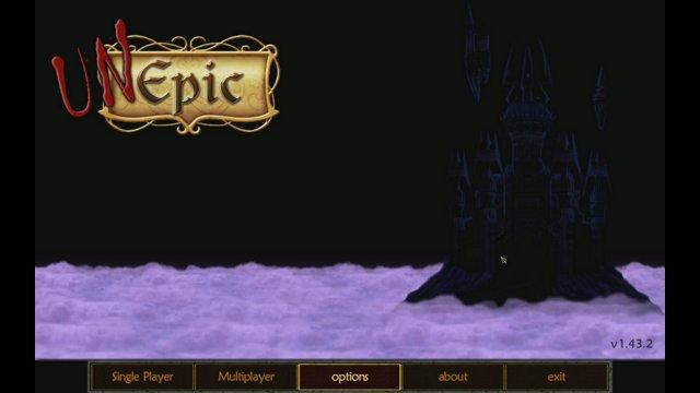 UnEpic gameplay part 1