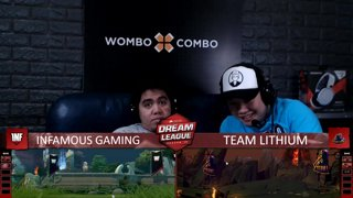 [FIL] Infamous 1 vs 0 The Lithium (BO3) | Game 2 | Dream League Season 10 Minor Group Stage