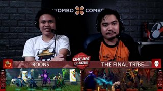 [FIL] The Final Tribe vs ROONS (BO3) | GAME 1 | Dream League Season 10 Minor Group Stage