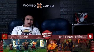 [FIL] The Final Tribe vs ROONS (BO3) | Game 2 | Dream League Season 10 Minor Group Stage