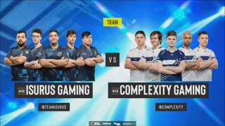 [PT-BR] Isurus vs. compLexity | ESL Pro League 2019 | Dia 14 - [Mapa 2 - TRAIN]
