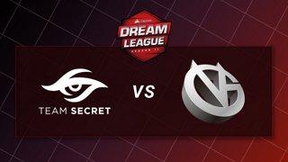 Team Secret vs Vici Gaming - Game 1 - Playoffs - CORSAIR DreamLeague S11 - The Stockholm Major