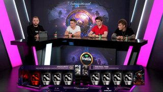 The Final Tribe vs Team Singularity game 1